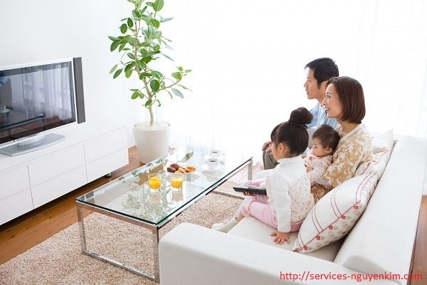 thời gian xem tivi