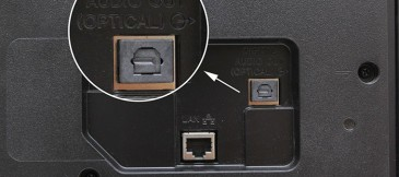 Cổng Optical trên tivi
